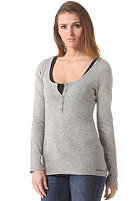 BENCH Womens Jaylol Longsleeve grey marl