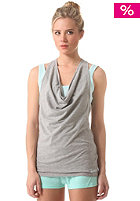 BENCH Womens Kinney Top grey marl