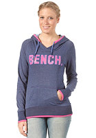 BENCH Womens Kirkton Hooded Sweat blue depths