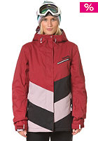 BENCH Womens Kruiser Snow Jacket tibetan red