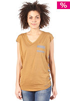 BENCH Womens Kurri S/S T-Shirt dull gold