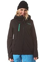 BENCH Womens Lamb Jacket jet black