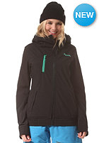 BENCH Womens Lamb Jacket jet black
