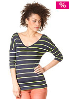 BENCH Womens Lollyface Knit Sweat DRESS BLUE