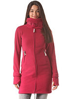 BENCH Womens Long Funnel Neck Sweat beet red