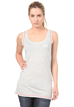 BENCH Womens Look Top medium grey marl
