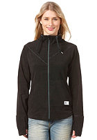 BENCH Womens Lowree Sweat Jacket jet black