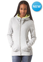 BENCH Womens Lugeing Hooded Zip Sweat grey marl