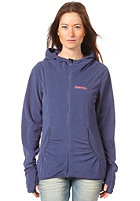 BENCH Womens Madely Sweat Jacket deep cobalt