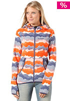 BENCH Womens Madely Sweat Jacket spiced coral