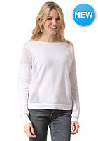 BENCH Womens Make A Point Knit Sweat bright white