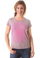 BENCH Womens Manchester Eye S/S T-Shirt raspberry rose
