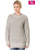 BENCH Womens Maso Knit Sweat smoked pearl