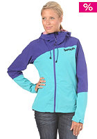 BENCH Womens Massy Match Softshell Jacket spectrum blue
