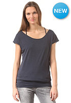 BENCH Womens Maybe Again S/S T-Shirt total eclipse