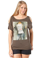 BENCH Womens Millis S/S T-Shirt black ink