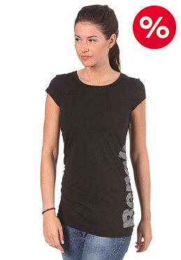 BENCH Womens Moonlight S/S T-Shirt black/smoked pearl
