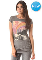 BENCH Womens Needalift S/S T-Shirt smoked pearl