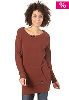 BENCH Womens Netster Hooded Sweat rum raisin