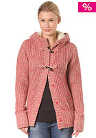 BENCH Womens Oldbury Knit Jacket raspberry