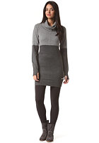 BENCH Womens Otherhalf Dress anthracite marl