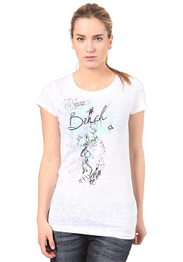 BENCH Womens Petrel S/S T-Shirt white
