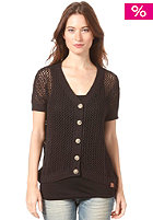 BENCH Womens Picknicked Knit Jacket black