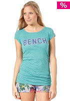 BENCH Womens Rantaway S/S T-Shirt pool green