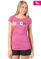 BENCH Womens Rantaway S/S T-Shirt raspberry rose