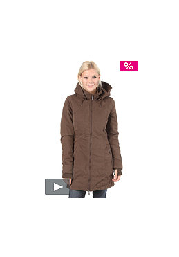 BENCH Womens Razzle Jacket slate brown