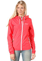 Womens Retro Cag Jacket hibiscus