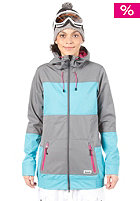 BENCH Womens Rin Tin Tin Softshell Jacket castlerock