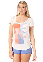 BENCH Womens Rippler S/S T-Shirt shell