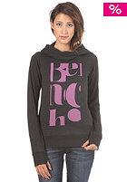 BENCH Womens Ruchia Hooded Sweat bench black marl