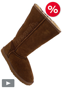 BENCH Womens Ruhr Boot chestnut
