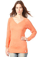 BENCH Womens Sandcastled Knit Sweat melon