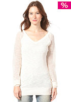 BENCH Womens Sandcastled Knit Sweat pristine