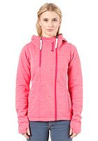 BENCH Womens Sandray Sweat Jacket rose red