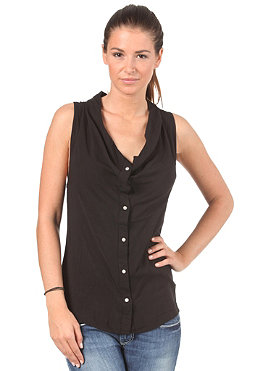 BENCH Womens Simon Cowl Shirt black