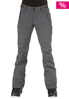 BENCH Womens Slim Slina Pant charcoal