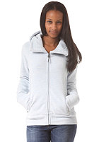 BENCH Womens Slinker II Hooded Zip Sweat arctic ice marl