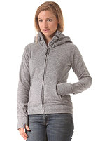 BENCH Womens Slinker II Hooded Zip Sweat smoked pearl