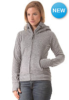 Womens Slinker II Hooded Zip Sweat smoked pearl