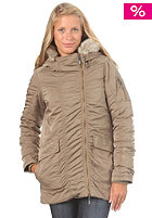 BENCH Womens Snork Jacket lead grey