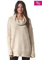 BENCH Womens Snugglehug Knit Sweat sleet marl