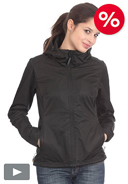 BENCH Womens Sporty SupShell Jacket black