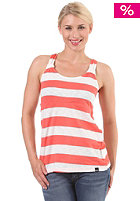 BENCH Womens Striped BananTop hot coral