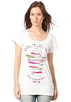 BENCH Womens Sunset Surfers S/S T-Shirt white sand