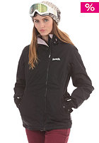 BENCH Womens Supersession Snow Jacket black ink