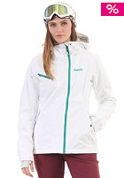 BENCH Womens Supersession Snow Jacket bright white